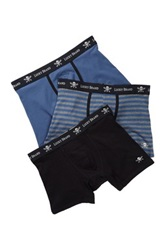 Lucky Brand Black Label Boxer Brief Pack Of 3 Blue
