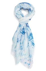 Nordstrom Women's Graceful Hanami Cashmere And Silk Scarf
