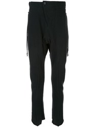 Masnada Slim Fit Trousers Black
