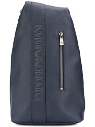 Emporio Armani Grained Logo Backpack 0455