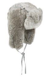Men's Nathaniel Cole Genuine Rabbit Fur Trapper Hat