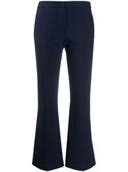 Semicouture Flared Cropped Trousers 60