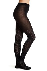 Smartwool Floral Scrolls Tights Black