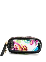 Versace Jeans Couture Filigree Print Clip On Pouch 60