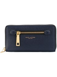 Marc Jacobs 'Gotham' Continental Wallet Blue