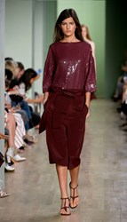 Tibi All Over Sequins T Shirt