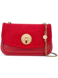 See By Chloe Chain Strap Shoulder Bag Red