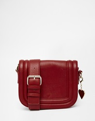Marc B Small Saddle Bag Rust