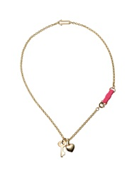 Marc By Marc Jacobs Necklaces Fuchsia