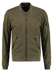 Superdry Rookie Duty Bomber Jacket Deepest Army Oliv