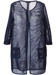 Tonello Straight Fit Net Coat