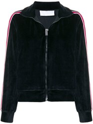 No Ka' Oi Side Striped Sports Jacket Black