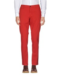 Reporter Casual Pants Brick Red