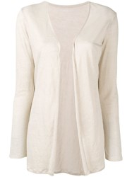 Majestic Filatures Open Cardigan Neutrals