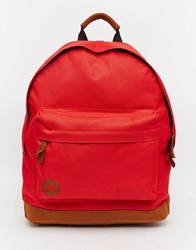 Mi Pac Classic Bright Red Backpack Red