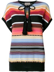 Laneus Mexico T Shirt Multicolour