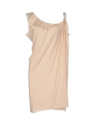Semi Couture Short Dresses Beige