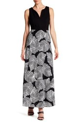 Eva Franco Knightley Belted Maxi Dress Black