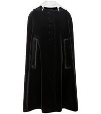 Prada Velvet Cape Black