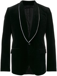 Givenchy Classic Fitted Blazer Men Cotton Cupro Viscose 48 Black