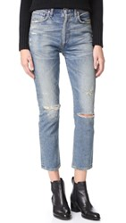 Citizens Of Humanity Dree High Rise Crop Jeans Cameo