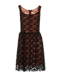 Doralice Short Dresses Black