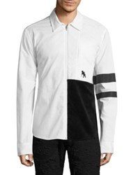 Prps Solar Colorblock Jacket White