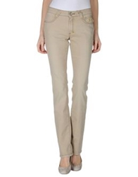 9.2 By Carlo Chionna Denim Pants Beige