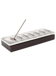 Fornasetti Bacio Incense Box Black