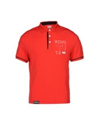Helly Hansen Polo Shirts Red