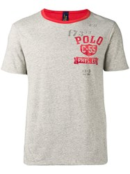 Polo Ralph Lauren Print T Shirt Grey