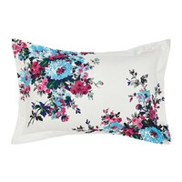 Joules Charlotte Cream Floral Pillowcase Oxford