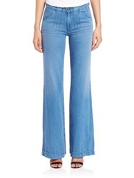 Ag Jeans Carly Pintuck Wide Leg Jeans Studio