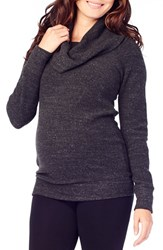 Ingrid And Isabelr Women's Isabel Cowl Neck Maternity Sweater