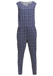 Tom Tailor Denim Jumpsuit Cosmos Blue Dark Blue