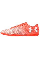 Under Armour Cf Force 3.0 In Indoor Football Boots Neon Coral White