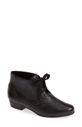 Munro American 'Sloane' Lace Up Bootie Women Black