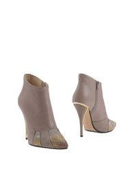 Gianni Marra Ankle Boots Dove Grey