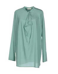 Alysi Blouses Light Green