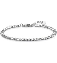 Thomas Sabo Glam And Soul Sterling Silver Chain Bracelet