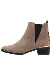 Buffalo Ankle Boots Taupe