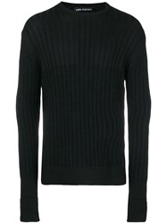 Neil Barrett Round Neck Jumper Black