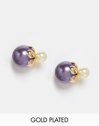 Neve And Eve Boxed Earrings Christmas Gift Gold
