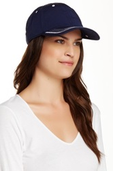 Sperry Topstitched Baseball Cap Blue