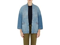 Current Elliott Women's Denim Kimono Jacket Light Blue