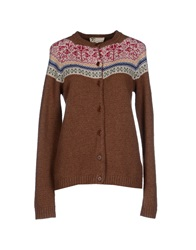 Local Apparel Cardigans Brown