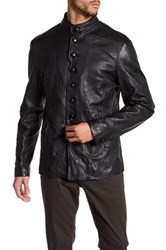 John Varvatos Genuine Leather Jacket Black