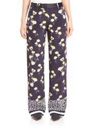 Mother Of Pearl Ruthie Silk Wide Leg Pants Dandelion