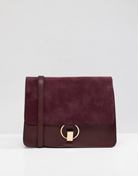 Warehouse Satchel Bag In Berry Purple