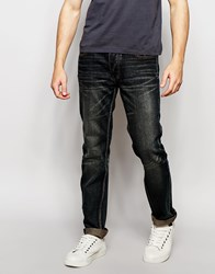 Bellfield Washed Indigo Slim Fit Jean Blue